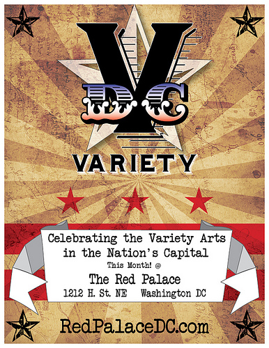 DCVariety Open Mic Night @ the Red Palace